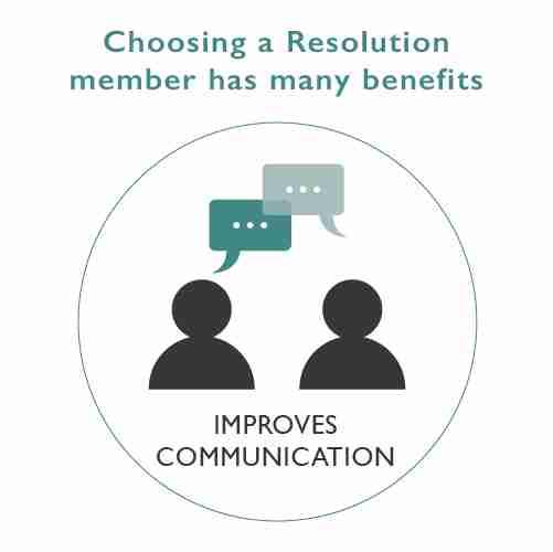 Choosing a Resolution Member Logo