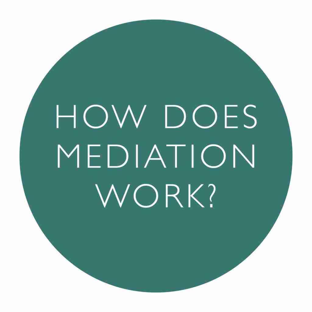 How Does Mediation Work Logo
